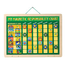 my responsibility chart my magnetic responsibility chart