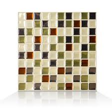 Peel And Stick Kitchen Tile Smart Tiles Mosaic Idaho 985 X 985 Peel Stick Wall Tile In