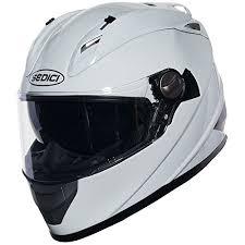 Sedici Strada Full Face Motorcycle Helmet Lg Black