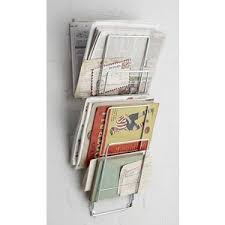 Wall Mounted Magazine Rack by The Contemporary Home