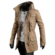 best quality s5q men vintage military coat long slim trench jackets warm winter parka hoo aaadxk at men s trench coats dhgate com