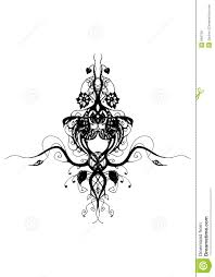 cool designs to trace. Hand Draw-ed Floral Design Ellements,black\u0026white ,ready To Trace Cool Designs A