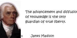 James Madison Quotes Simple Quotes About James Madison On QuotesTopics