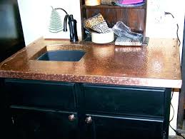 hammered copper countertops copper ideas hammered hammered copper sheets for countertops