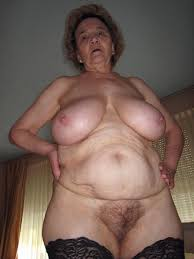Old Mature Hairy Granny