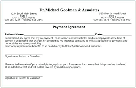 Payment Agreement Template Plan Free Word Documents Printable Loan Awesome Loan Repayment Contract Free Template