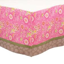 kidsline nursery bedding sets nursery kidsline bedding sets blossom tails 4 piece baby crib bedding set by kidsline