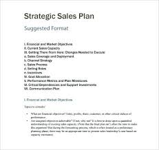 Example Sales Action Plan Sample Sales Strategies Template Iso Certification Co
