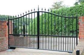 Modern Metal Fence Gate And Fence Gate Design Steel Main Gate Design