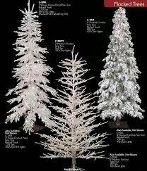 75ft PreLit LED Artificial Christmas Tree White Flocked Slim Slim Flocked Christmas Trees Artificial