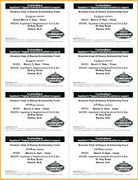 Fundraiser Ticket Template Free Download Delectable Fundraiser Dinner Tickets Template Fundraiser Dinner Tickets