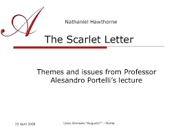 scarlet letter themes essays on the scarlet letter themes c  scarlet