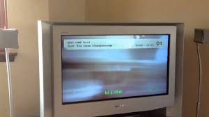 sony wega crt tv. sony wega crt tv