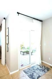 slide door ideas kitchen glass sliding door sliding glass door curtain cool elegant window treatments ideas