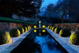 garden lighting design. Spiked Fittgins Disappear Into Planting And Crate A Wonderful Garden Scene Lighting Design