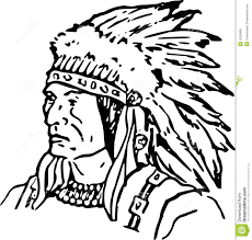 Native Americans Coloring Pages Free Inside Indian Page Wumingme