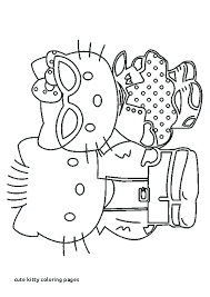 Kitty Coloring Page Zupa Miljevcicom