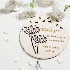Wedding Coasters Personalised Wedding Coasters By Natural Gift Store