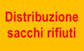 NUOVE DATE DISTRIBUZIONE SACCHI E CALENDARI RIFIUTI 2021
