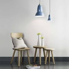 brass pendant lighting. dusty blue in use with original 1227 brass maxi pendant light lighting