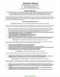 Automation Sales Engineer Sample Resume Excellent Sales Engineer Resume Sample Resume Mechanical Sales 1