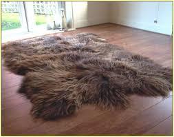 large sheepskin rug ikea