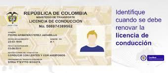 Consulado De Colombianas Berlín Conducir Licencias Renovación En Colombia