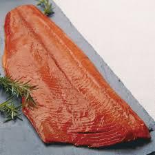smoked sockeye salmon fillet