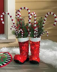 Candy Cane Outdoor Christmas Decorations ✨60 Stylish IndoorOutdoor Christmas Decorations @grandinroad 42