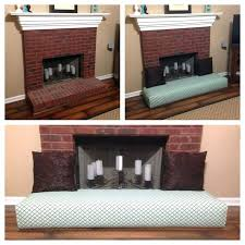 fireplace hearth safety guards covers for es guard baby proof hand crafted fireplace hearth safety