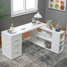 white desk for home office. hudson lshaped desk this hollowcore u2013 gray provides a spacious workspace for your home or office surrounding you on two sides so can white