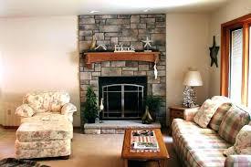 home fireplace stone veneer living room reviews ideas log nature inspired