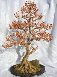 Wire tree sculpture, Handmade <b>home decor</b>, <b>Bonsai</b> tree