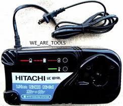 hitachi 18v charger. image is loading new-hitachi-uc18yrl-18v-battery-charger-4-ebm1830- hitachi 18v charger