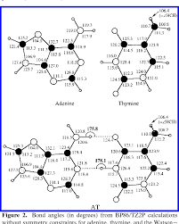 Hydrogen Bonding In Dna Base Pairs Reconciliation Of Theory