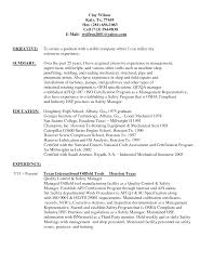 Oilfield Resume Objective Examples Useful Oilfield Resume Objective In Pipefitter Resume Sidemcicek 7