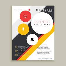 Creative Brochure Template Vector Free Download