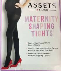Details About Spanx Assets Maternity Shaping Terrific Tights 158m Size 1 Black C12
