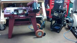 central machinery band saw. harbor freight metal bandsaw wheel modification. central machinery band saw