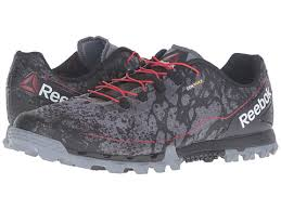 reebok mens running shoes. au12218 - reebok all terrain super or black/red mens running shoes | 100
