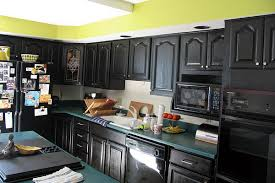 Best Color To Paint Kitchen Cabinets With Black Appliances Home