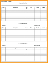 Accounting Ledger Templates Debit Credit Ledger Template Simple Excel Spreadsheet