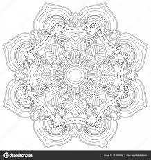 Poppy Bloemen Kleurplaten Boek Vectorillustratie Stockvector With