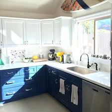 two tone kitchen and white two toned kitchen design best colors for kitchen cabinets good two