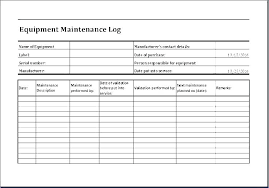 Car Service Record Template Vehicle Maintenance Template Free Vehicle Maintenance Log