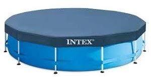 Тент для каркасного <b>бассейна INTEX Metal Frame</b> 28031 366 см ...