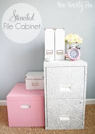 diy home office ideas. file cabinet makeover at iheart organizing via lilblueboocom diy home office ideas
