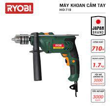 Máy khoan cầm tay đa năng điện 710W RYOBI (KYOCERA) 710W- HID-710 - Máy  khoan