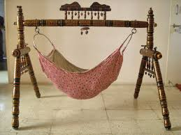 Baby Cradle Designs India Indian Style Old Wooden Baby Swing Indian Cradle Julla