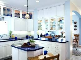 upper cabinets with glass doors kitchen